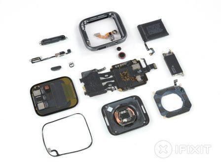 Les entrailles de l'Apple Watch 4 dévoilent quelques changements par rapport à la Series 3 2