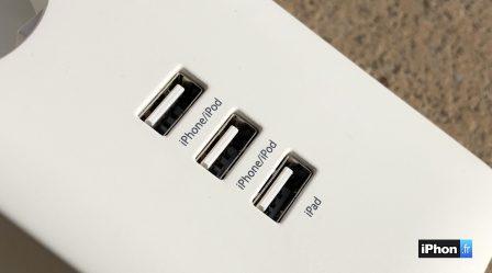 (En promo flash) Test de la prise multiple connectée Koogeek: 3 prises commandées  HomeKit et 3 prises USB 8