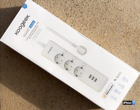 (En promo flash) Test de la prise multiple connectée Koogeek: 3 prises commandées  HomeKit et 3 prises USB 3