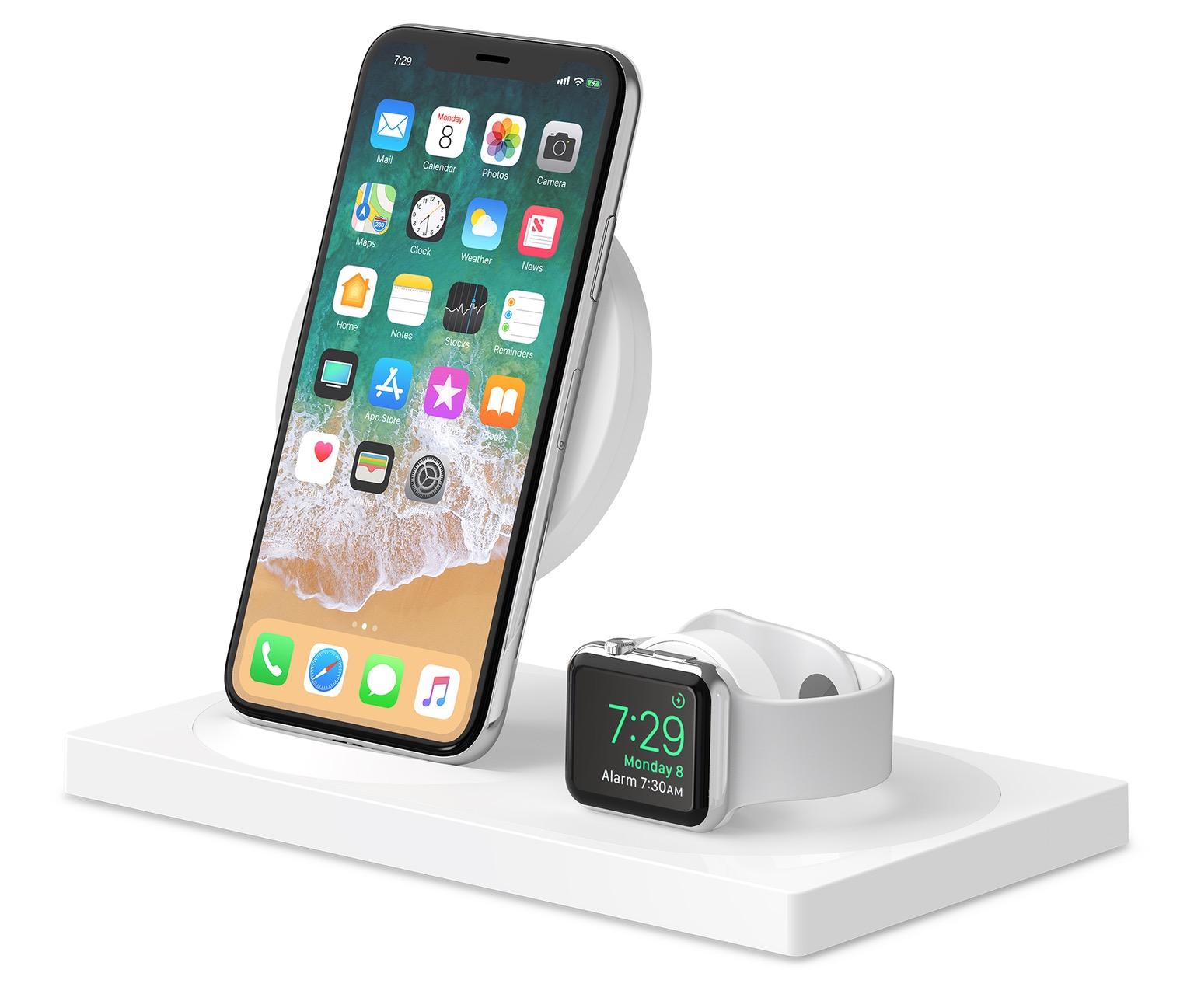 belkin lance un nouveau chargeur sans fil boost up pour l 39 iphone et l 39 apple watch. Black Bedroom Furniture Sets. Home Design Ideas