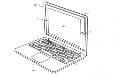 Un iPhone qui se glisse dans le MacBook, Apple y réfléchit 3