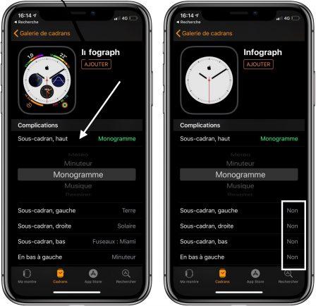 MàJ vidéo / Comment créer un cadran Apple Watch minimaliste avec symbole personnalisé au centre (  ou autre) 4