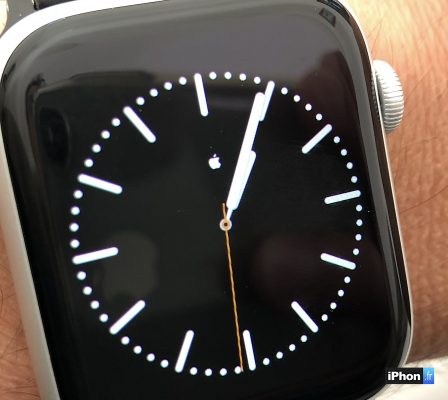 MàJ vidéo / Comment créer un cadran Apple Watch minimaliste avec symbole personnalisé au centre (  ou autre) 7