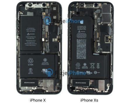 L'iPhone XS passe au démontage: la batterie est désormais vraiment en L 2