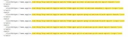 Le site d'Apple spoile les iPhone: XS, XS Max et Xr, capacités, coloris et la nouvelle taille des Apple Watch 5