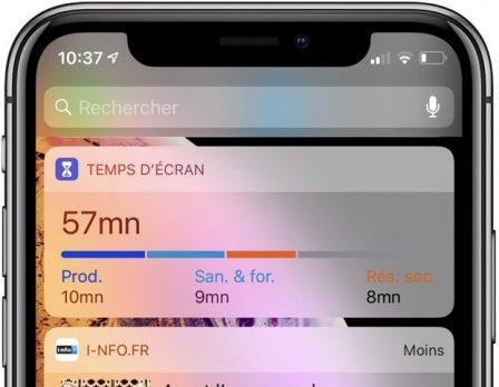 Temps d'écran: comment fonctionne la nouveauté iOS 12 qui aide à lutter contre l'addiction iPhone 8