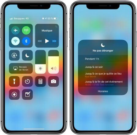 """iOS 12: comment utiliser les nouveaux modes de la fonction """"Ne pas déranger"""" 2"""