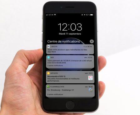"""Résultat du sondage """"votre avis sur iOS 12"""" : une version très attendue … et salvatrice? 3"""