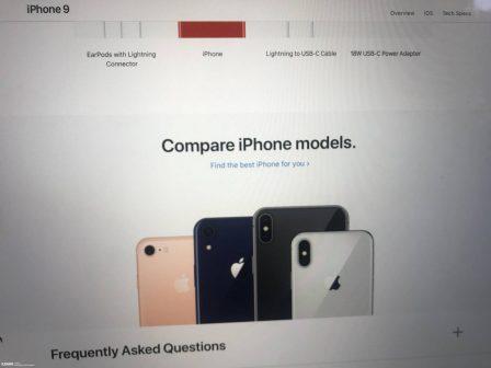 Des coloris supplémentaires pour l'iPhone X LCD? 3