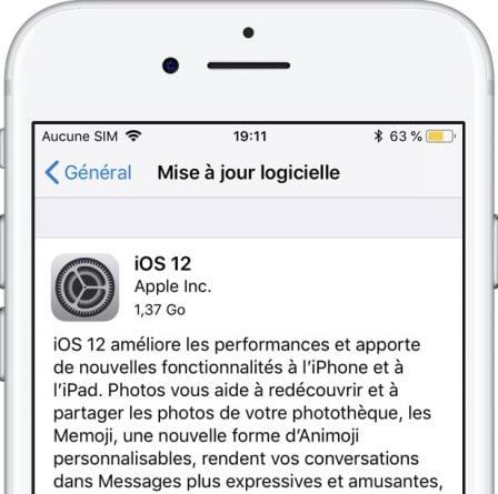 iOS 12 est disponible: comment mettre à jour iPhone et iPad, principales nouveautés + WatchOS 5 et tvOS 12 2