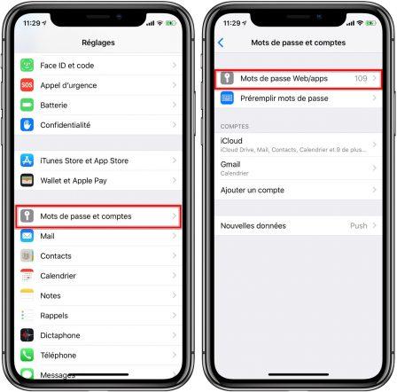 Pratique iOS 12: des mots de passe plus sûrs, détection de doublons et partage de mots de passe 3