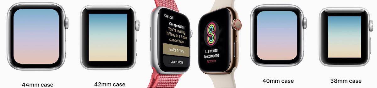 55ad6978793df1 Quelles différences entre l Apple Watch Series 3 et la Series 4 ...