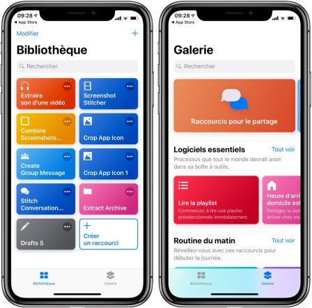 L'appli Raccourcis d'iOS 12 est disponible sur l'app Store: elle importe les workflows 3