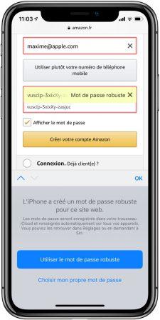 Pratique iOS 12: des mots de passe plus sûrs, détection de doublons et partage de mots de passe 2