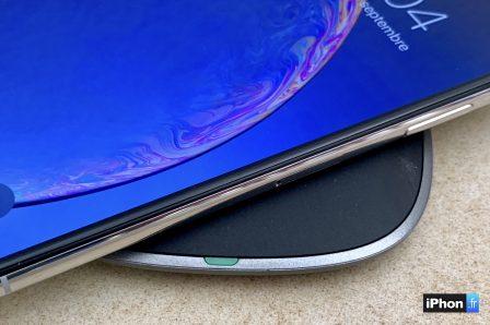En promo flash courte / Test du chargeur sans-fil de Aukey: la recharge iPhone discrète et élégante 9