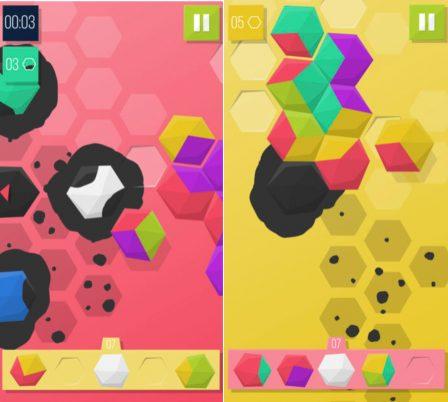 Tuiles animées et colorées: Troisix revisite le jeu de domino sur iPhone et iPad 2