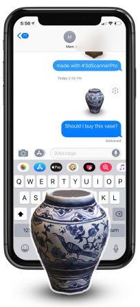 L'iPhone bientôt capable de scanner des objets en 3D avec une nouvelle app de Réalité Augmentée: vidéo 2