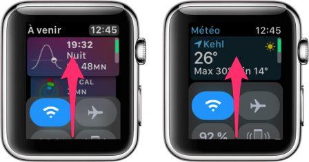 Apple Watch: découvrez les possibilités et nouveautés du centre de contrôle version watchOS 5 2