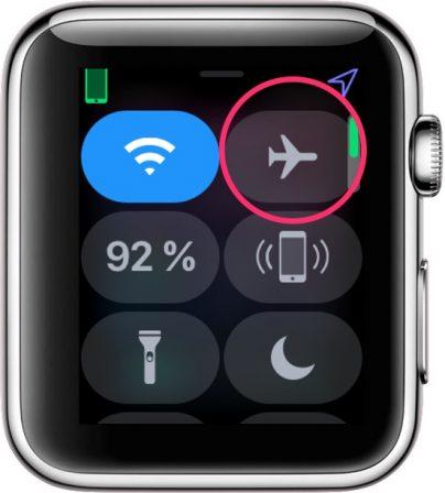 Apple Watch: découvrez les possibilités et nouveautés du centre de contrôle version watchOS 5 5