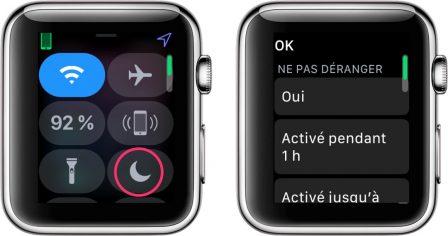 Apple Watch: découvrez les possibilités et nouveautés du centre de contrôle version watchOS 5 9