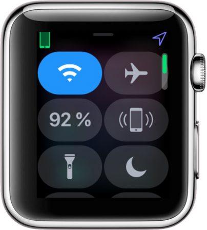 Apple Watch: découvrez les possibilités et nouveautés du centre de contrôle version watchOS 5 4