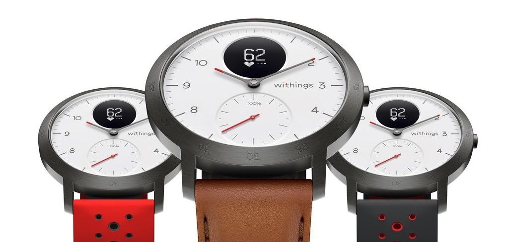 withings sort sa nouvelle montre connect e steel hr sport suivi gps et plus dans un design de. Black Bedroom Furniture Sets. Home Design Ideas