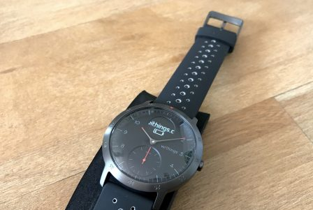 Test de la Steel HR Sport de Withings: une montre connectée pour la santé, cachée derrière des aiguilles mécaniques 6
