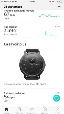 Test de la Steel HR Sport de Withings: une montre connectée pour la santé, cachée derrière des aiguilles mécaniques 11