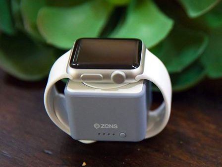Recharger l'Apple Watch en voyage: 8 batteries avec chargeur Watch intégré, certifiées Apple + un accessoire original  (MàJ) 3