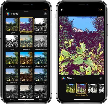 En pratique iOS 12: des outils puissants pour enrichir photos et vidéos avant partage iMessage (vidéo) 4