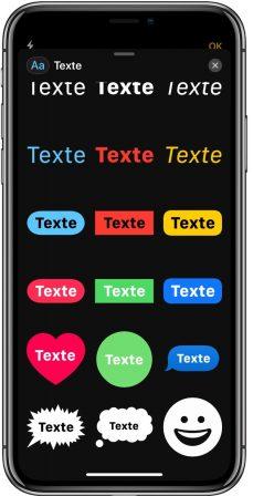 En pratique iOS 12: des outils puissants pour enrichir photos et vidéos avant partage iMessage (vidéo) 5