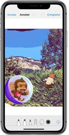En pratique iOS 12: des outils puissants pour enrichir photos et vidéos avant partage iMessage (vidéo) 10