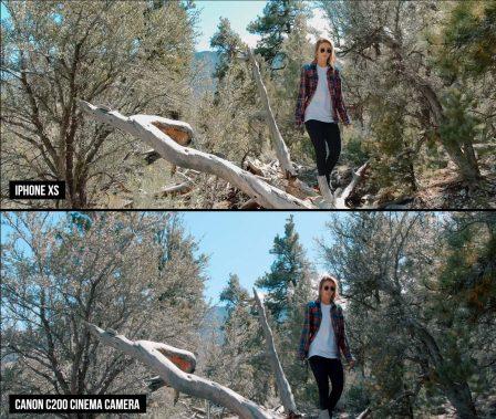 L'iPhone XS testé contre une caméra pro: vidéo et avis d'un spécialiste 2