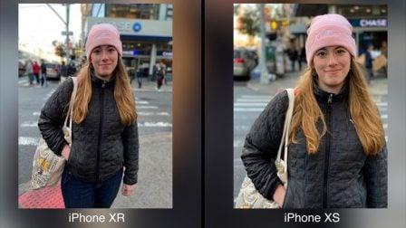 Quelle différence pour la photo entre iPhone XR et XS: le test 2