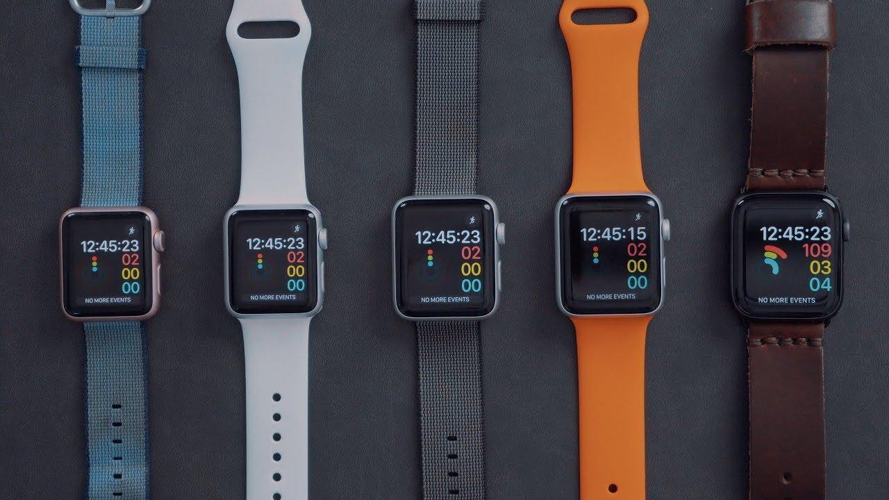 a624098f83f0b4 En vidéo   comment la vitesse de l Apple Watch a évolué ces dernières années