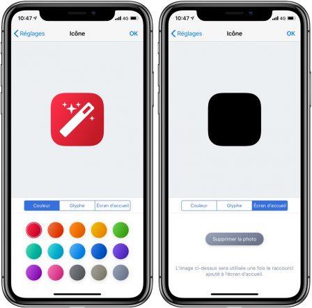 Comment utiliser les Raccourcis iOS pour créer des icônes invisibles sur iPhone, iPad 3