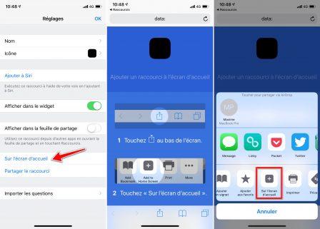 Comment utiliser les Raccourcis iOS pour créer des icônes invisibles sur iPhone, iPad 4