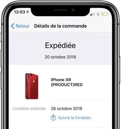 Les iPhone XR précommandés passent au statut expédié : prêts pour demain 2