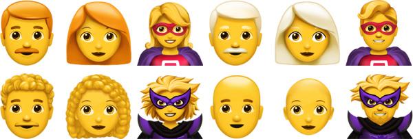 En détails et en images: tous les nouveaux emojis d'iOS 12.1 7