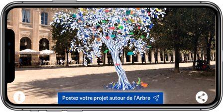 Dernières heures - L'Arbre à Projets: 5 x 3000 euros à gagner avec un arbre en Réalité Augmentée à faire pousser chez soi sur iPhone, iPad et Android 3
