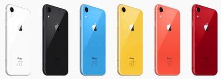 Résultat sondage iPhone XR: couleurs et capacités préférées des acheteurs 5