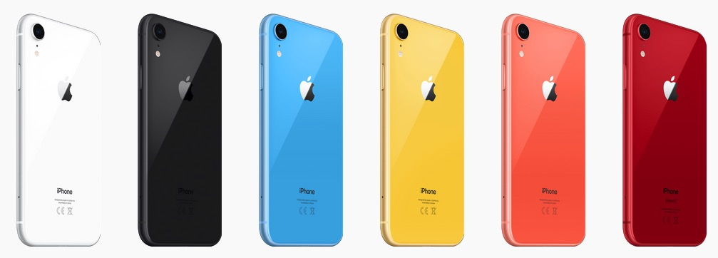 iphone en couleur