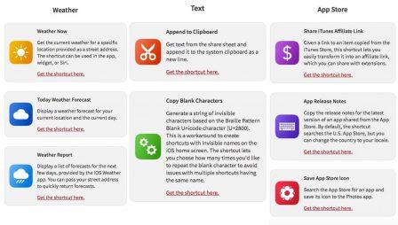 Où trouver et télécharger de nouveaux raccourcis iOS? - Màj 4