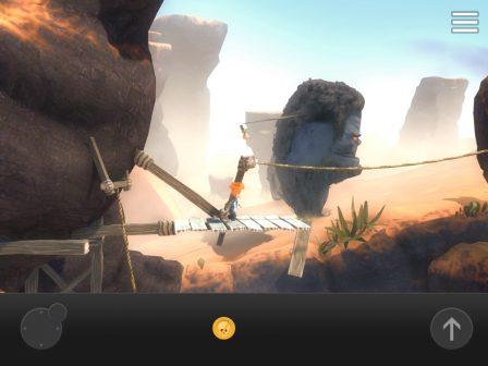 """Test: superbe jeu de plate forme, Max revient en forme pour sauver son frère dans """"The Curse of Brotherhood"""" iOS 4"""