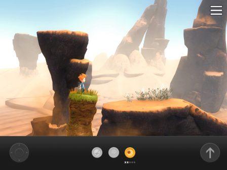 """Test: superbe jeu de plate forme, Max revient en forme pour sauver son frère dans """"The Curse of Brotherhood"""" iOS 3"""