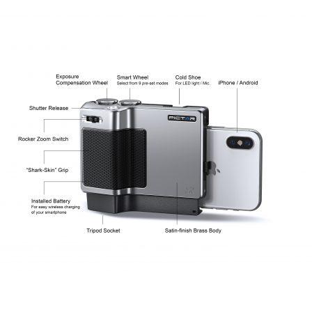 Réglages, déclencheur et fonctions avancées pour la photo iPhone avec le nouveau Pictar, toujours à ultrason! 2