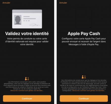 Apple Pay Cash: l'échange d'argent par message apparait (un peu) en France et en Allemagne. Bientôt lancé? 3