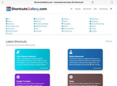 Où trouver et télécharger de nouveaux raccourcis iOS? - Màj 8