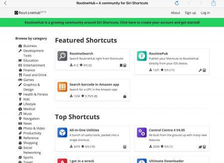 Où trouver et télécharger de nouveaux raccourcis iOS? - Màj 7