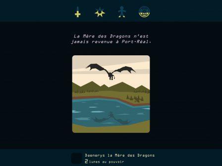 Test: régnez sur Westeros, dans l'excellent Reigns: Game of Thrones sur iPhone, iPad 3